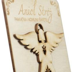 Pamiątka I Komunii Świętej - Anioł Stróż