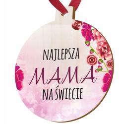 Drewniany medal - upominek na dzień matki i ojca