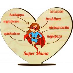 Statuetka dla Super Mamy. Prezent z okazji Dnia...