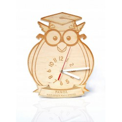 Zegar z podpisem Prezent
