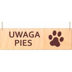 Tabliczka ostrzegawcza - uwaga pies