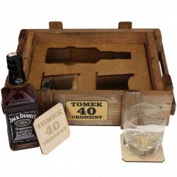 Skrzynka urodzinowa na Jacka Danielsa
