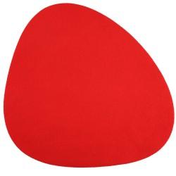 Podkładka na stół pod talerz i sztućce czerwona