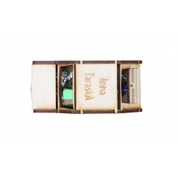 Winietka w kształcie malucha - pudełko na cukierek