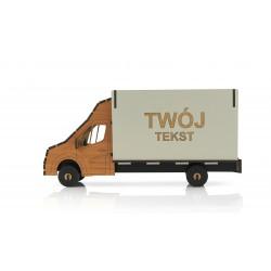 Pudełko w formie busa dostawczego - prezent...