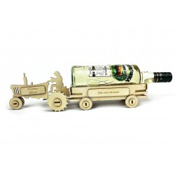 Traktor wódowóz na butelkę - prezent urodzinowy